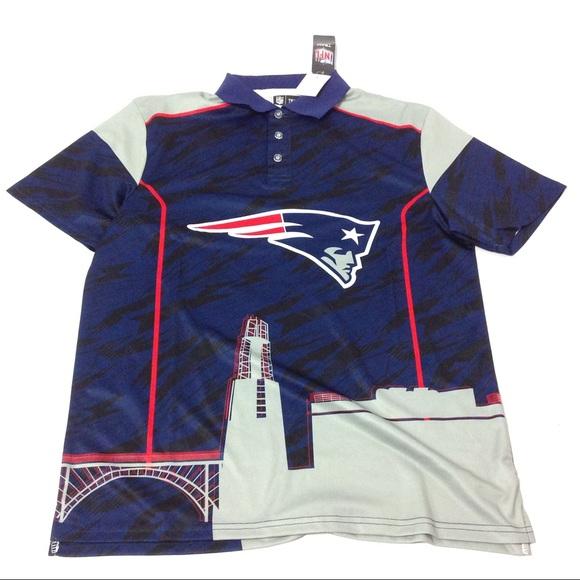 10d6a73e6 NFL Team Apparel New England Patriots Dri-Fit Polo
